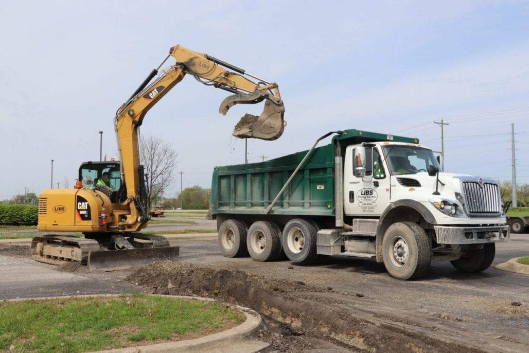 Commercial Asphalt Paving Services - Libs Paving