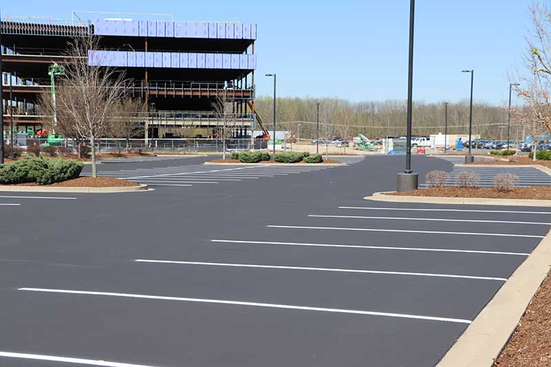 Striping and Pavement Markings - Libs Paving