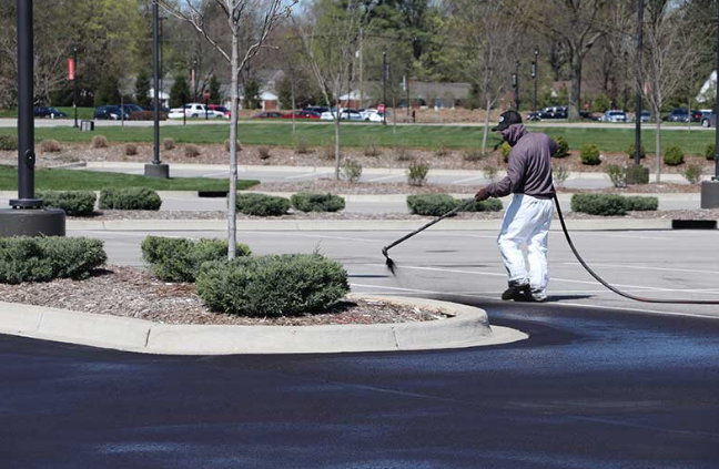Sealcoating services by Libs Paving