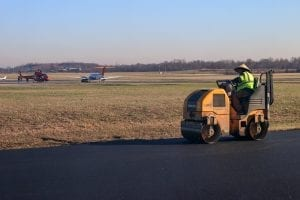 Asphalt Paving Services airport project