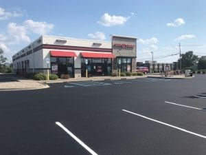 Parking Lot Paving Project done by Libs Paving Company